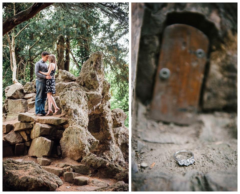 Elvaston Castle Engagement Photography by Kate Lowe