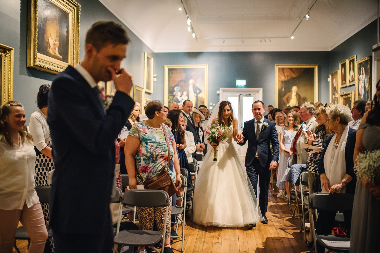 Derby Joseph Wright Gallery Wedding